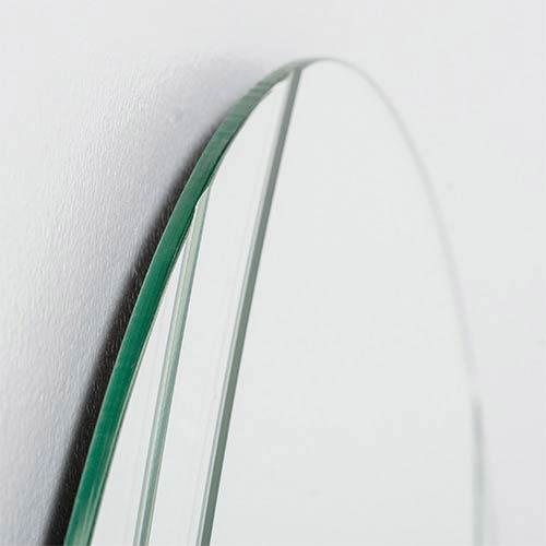 Decor Wonderland Serina Modern Crowned Top Frameless