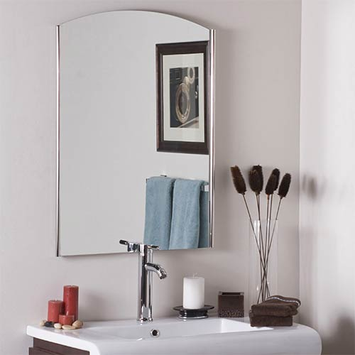 Decor Wonderland Vista Frameless Wall Mirror