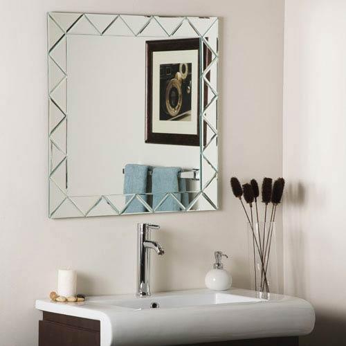 Luciano Frameless Mirror