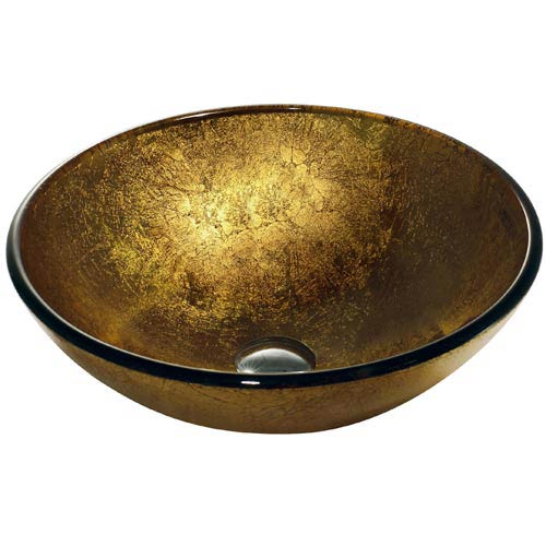 Liquid Gold Vessel Sink