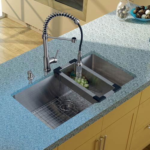 Durable Undermount Kitchen Sink | Bellacor