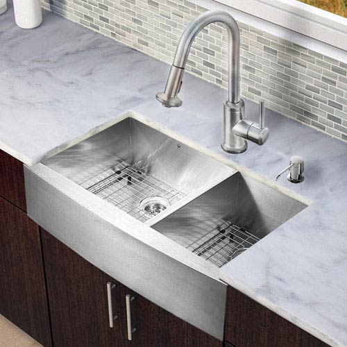 Ada Compliant Double Bowl Kitchen Sinks Free Shipping | Bellacor