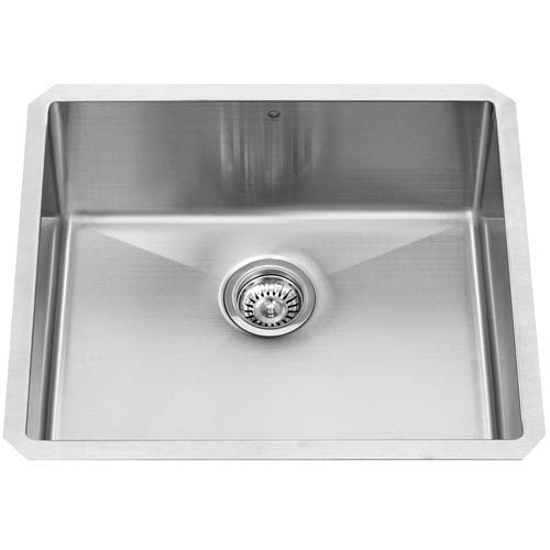 Vigo 23-inch Mercer Stainless Steel Undermount Kitchen Sink