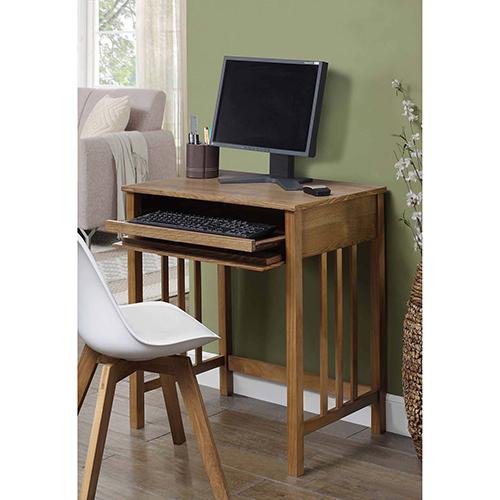Convenience Concepts Designs2Go Brown Mission Desk