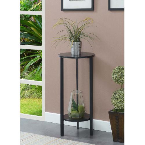 Graystone Black 32-Inch Plant Stand