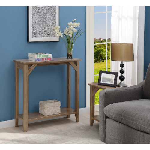 Winston Driftwood 12-Inch Hall Table