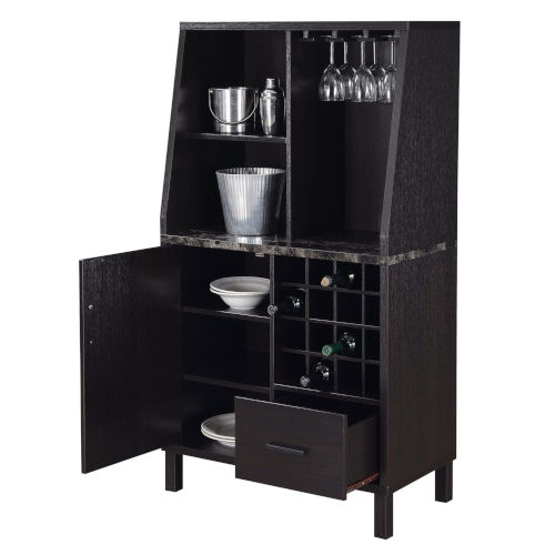 Newport Espresso Wine Storage Bar