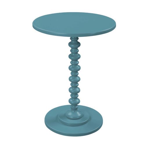 Palm Beach Teal Blue Spindle Table