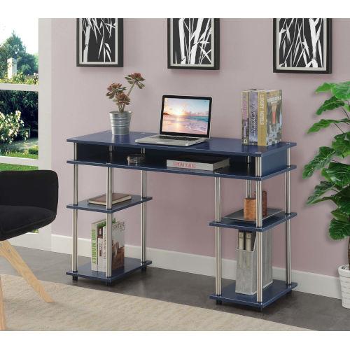 Designs2Go Cobalt Blue Office Desk