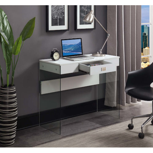 SoHo White 36-Inch Desk