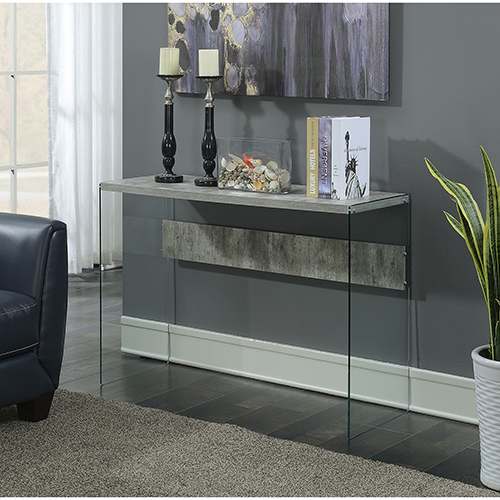 SoHo Faux Birch Console Table