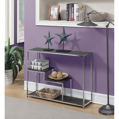 Wilshire Weathered Gray Console Table