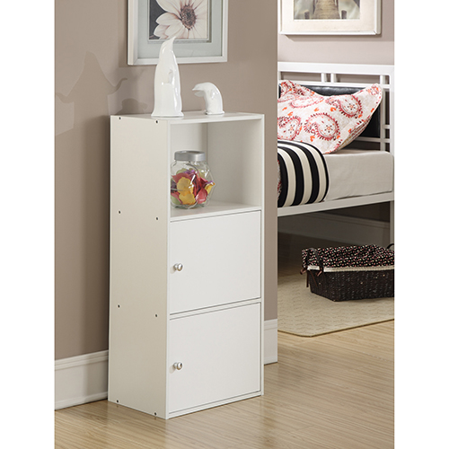 Convenience Concepts XTRA-Storage White Two Door Cabinet
