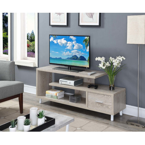 Seal II Ice White 60-Inch TV Stand