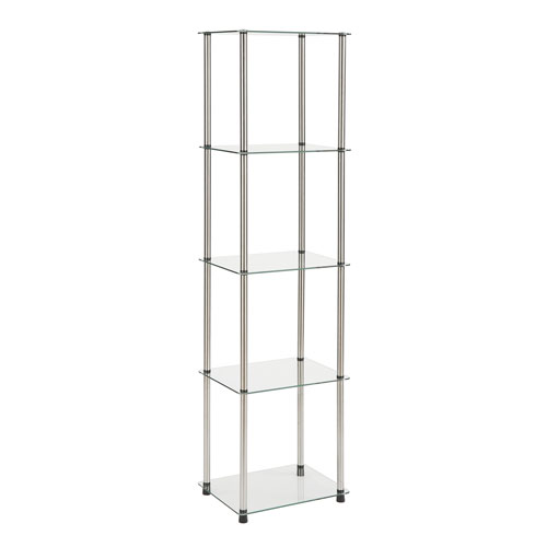 5 Tier Glass Tower