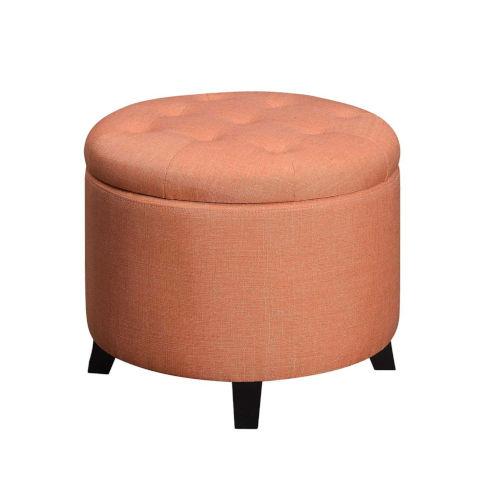 Designs 4 Comfort Coral Round Ottoman