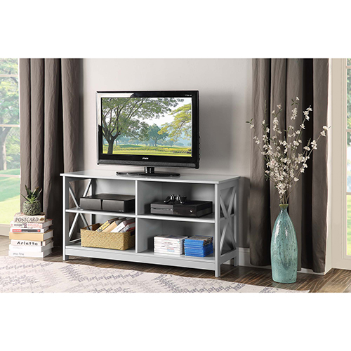 Oxford Gray TV Stand