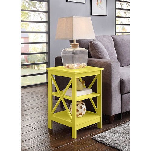 Oxford Yellow End Table
