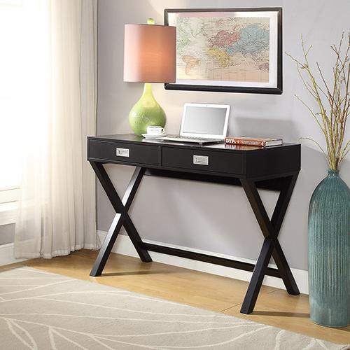 Convenience Concepts Designs2Go Black Landon Desk