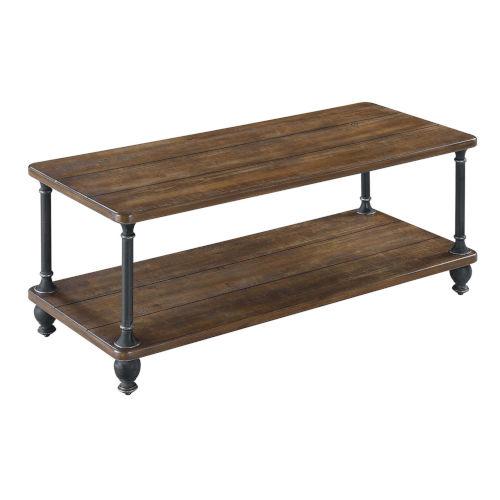Zion Dark Walnut MDF Coffee Table