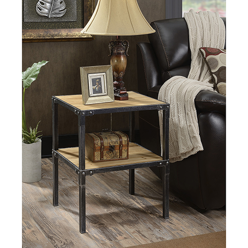 Convenience Concepts Laredo Black End Table