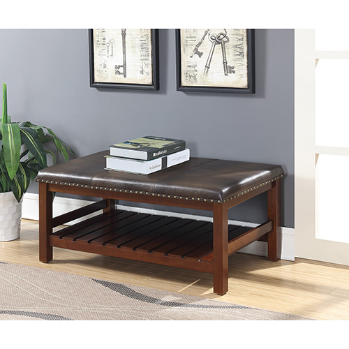 Admirable Convenience Concepts Tucson Espresso Ottoman Bench Pdpeps Interior Chair Design Pdpepsorg