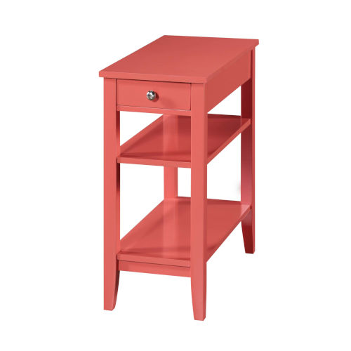 American Heritage Coral End Table With Drawer