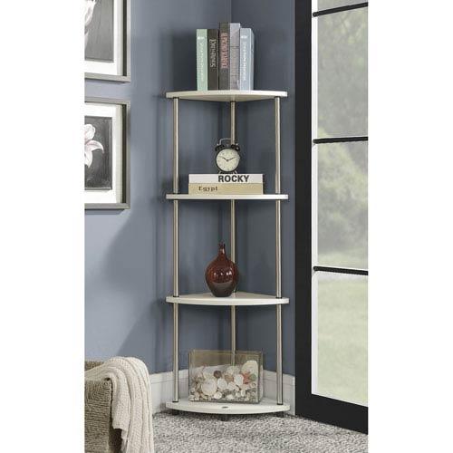 Designs2Go 4 Tier Corner Shelf