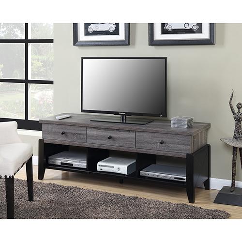 Newport Wheathered Gray 60-Inch Yorktown TV Stand