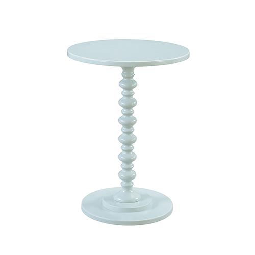 Palm Beach Spindle Table, Sea Foam