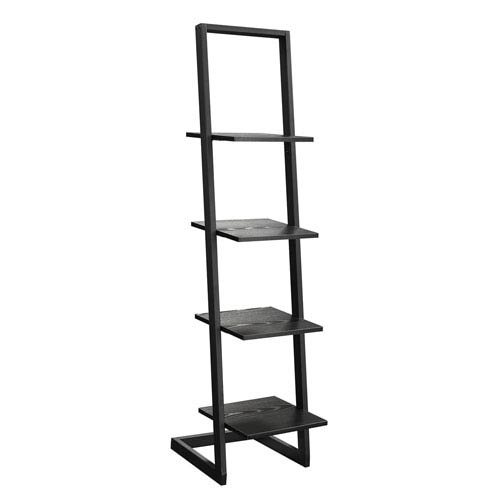 Convenience Concepts 4 Tier Ladder Bookshelf