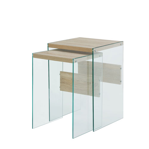 Convenience Concepts SoHo Nesting End Tables