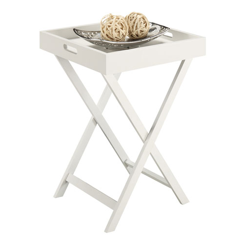 Baja End Table with Removable Tray