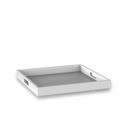 Convenience Concepts Palm Beach White 16.63-Inch Wide Tray