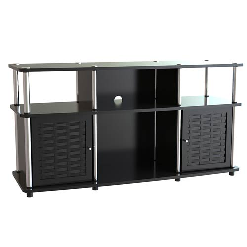 Designs2Go Black Chelsea TV Stand