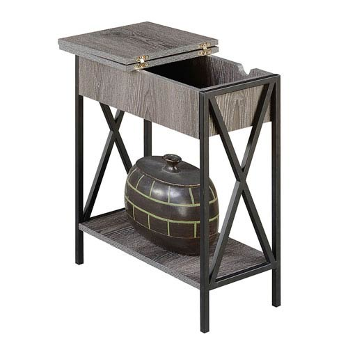 Tucson Electric Flip Top End Table