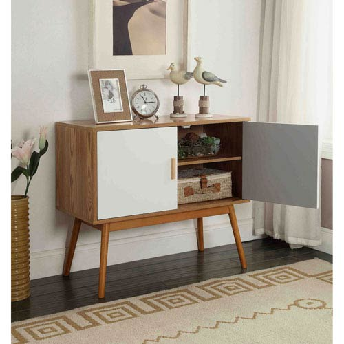 Convenience Concepts Oslo Natural Console Table