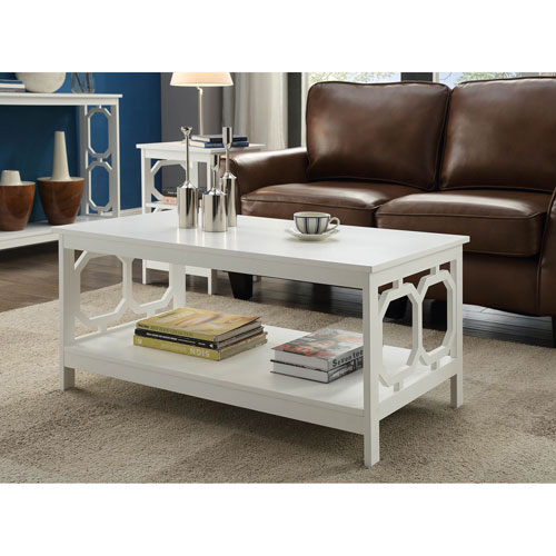 Omega White Coffee Table