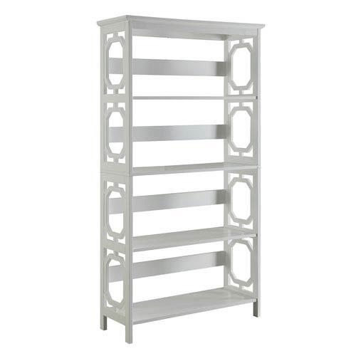 Omega 5 Tier Bookcase