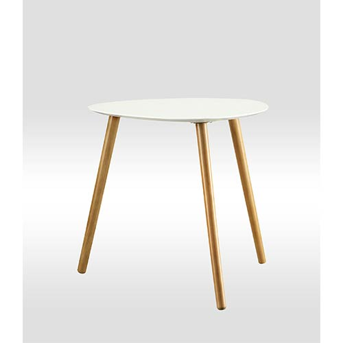 Convenience Concepts Oslo White End Table