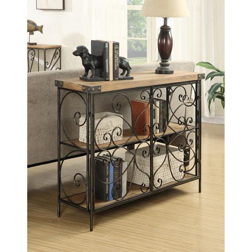 Convenience Concepts Sedona Decorative Wire Console Table