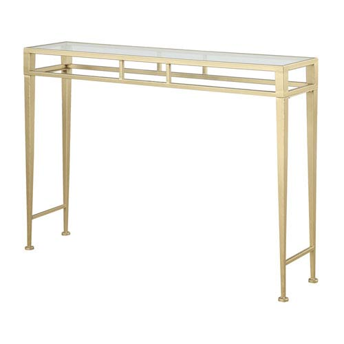 gold console table. Convenience Concepts Gold Coast Console Table