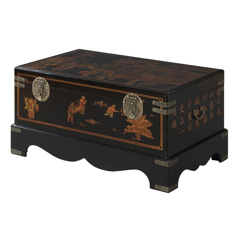 Touch of Asia Coffee Table with Storage