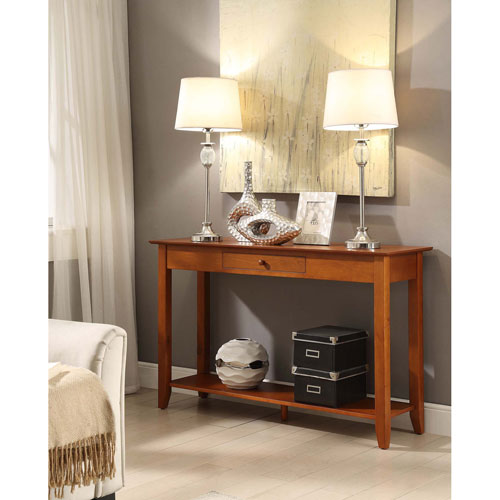 American Heritage Console Table with Drawer