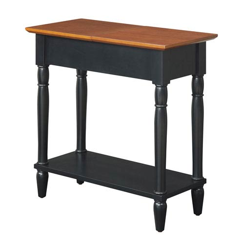 Convenience Concepts French Country Two Tone End Table