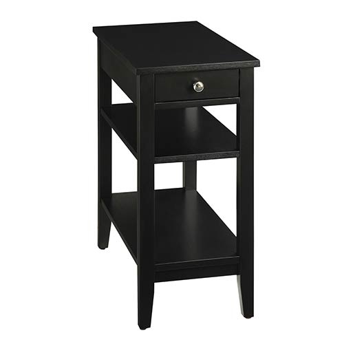 Black End Tables Accent Tables Free Shipping Bellacor