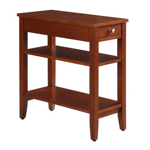 American Heritage Cherry Three Tier End Table