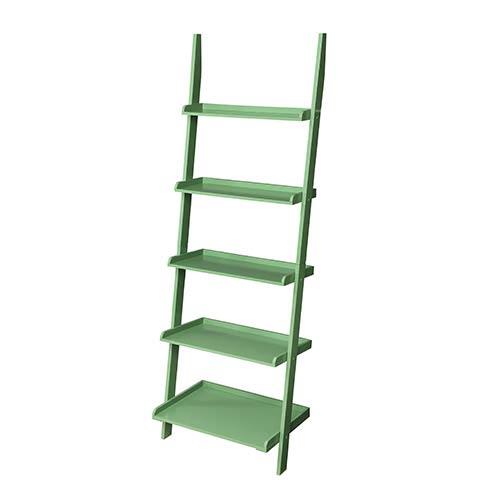 French Country Green Bookshelf Ladder