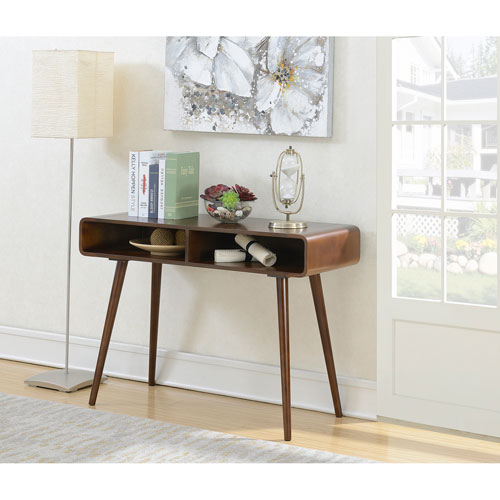 Convenience Concepts Napa Valley Console Table in Espresso