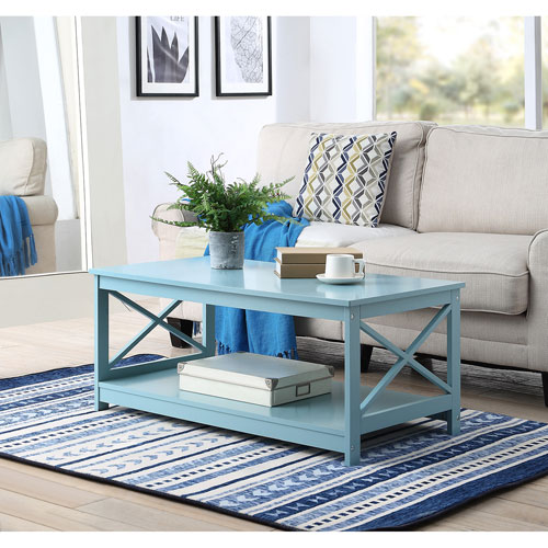 Oxford Coffee Table in Sea Foam